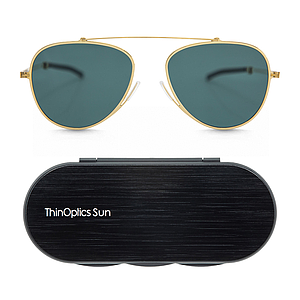 ThinOptics sun aviator gray