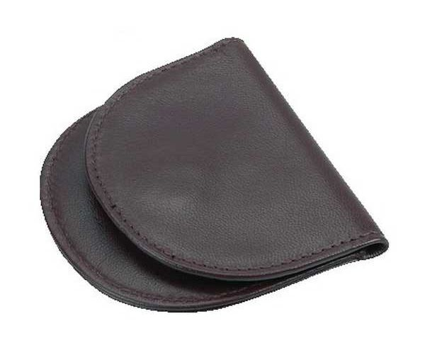 case for monocle with support ring brown