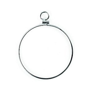 monocle rhodium plated 680
