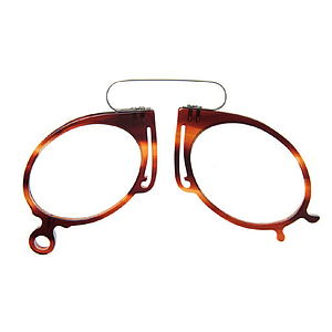 pince nez acetate demi brown