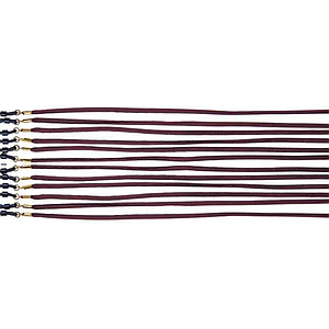 silk cords brown
